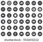 transport icons   Shutterstock .eps vector #552653212