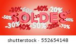 sales icons and percent... | Shutterstock . vector #552654148