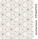 vector seamless pattern. modern ... | Shutterstock .eps vector #552669532