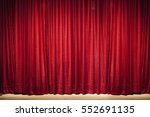 red curtain   Shutterstock . vector #552691135
