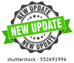 new update. stamp. sticker.... | Shutterstock .eps vector #552691996