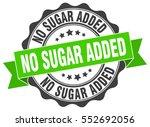 no sugar added. stamp. sticker. ... | Shutterstock .eps vector #552692056