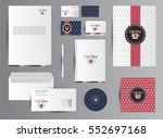 corporate branding identity for ... | Shutterstock .eps vector #552697168