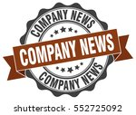 company news. stamp. sticker.... | Shutterstock .eps vector #552725092