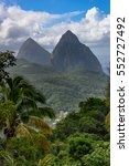Two Piton Mountains  Grand...