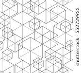 geometric seamless pattern | Shutterstock .eps vector #552729922