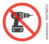 screwdriver icon in prohibition ...