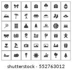 holiday icons   Shutterstock .eps vector #552763012