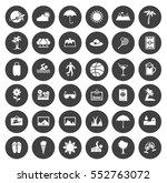 summer icons   Shutterstock .eps vector #552763072