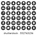 holiday icons   Shutterstock .eps vector #552763156