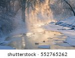 Forest River Frosty Winter...