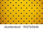 yellow steel plate hole mesh... | Shutterstock . vector #552765646