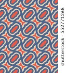 seamless retro pattern | Shutterstock .eps vector #552771268