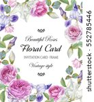 Floral Greeting Card With A...