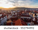 Prague  Old Town Square With...