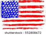 american flag usa  pencil... | Shutterstock .eps vector #552808672