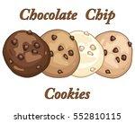 an illustration of four varied... | Shutterstock . vector #552810115