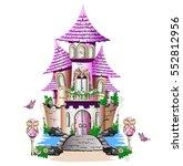 Pink Fairy Tale Castle....
