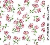 Floral Pattern. Flower Seamless ...