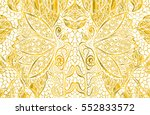 lotos  lotus  lily  floral ... | Shutterstock .eps vector #552833572