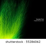 Abstract green energy background - stock photo