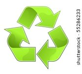recycle symbol | Shutterstock .eps vector #55286233