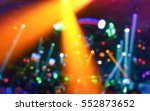 disco background with abstract... | Shutterstock . vector #552873652