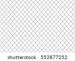 seamless steel wire. vector | Shutterstock .eps vector #552877252