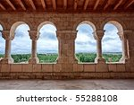 These Archs Are Located At The...