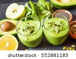 Healthy Green Detox Smoothie...