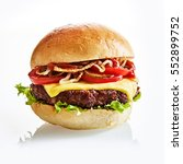 close up of thick and juicy...   Shutterstock . vector #552899752