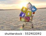 alicante  spain   september 17  ... | Shutterstock . vector #552902092