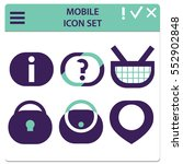 set of interface icons for...
