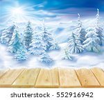 wooden boards against the...   Shutterstock .eps vector #552916942