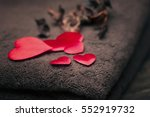 wellness decoration  valentine... | Shutterstock . vector #552919732