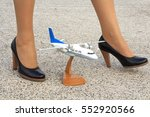 Girl Stewardess And A Model...