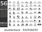 mega set and big group  real... | Shutterstock .eps vector #552928255