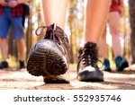 close up shooting of tourist's... | Shutterstock . vector #552935746