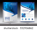 annual report brochure flyer... | Shutterstock .eps vector #552936862