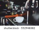 coffee espresso and coffee... | Shutterstock . vector #552948382