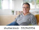 Smiling Senior Man With...