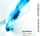 tech abstract background with... | Shutterstock .eps vector #552988222