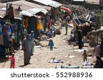Small photo of The African market of Debark in Ethiopia, 14. November 2012