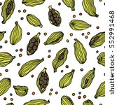 vector seamless pattern with...   Shutterstock .eps vector #552991468