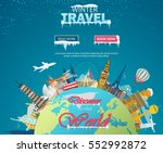 winter travel. travel to world. ...