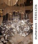 retro luxury light lamp decor... | Shutterstock . vector #553011256