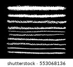 brush and pencil strokes  chalk.... | Shutterstock .eps vector #553068136