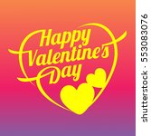 vector illustration card happy... | Shutterstock .eps vector #553083076
