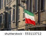 realistic view of the italian... | Shutterstock . vector #553113712