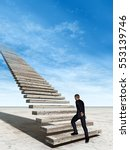 concept conceptual 3d... | Shutterstock . vector #553139746